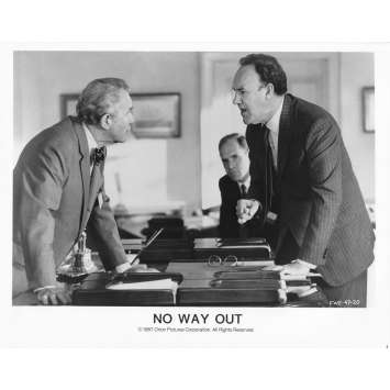 NO WAY OUT Original Movie Still 47-20 - 8x10 in. - 1987 - Roger Donaldson, Kevin Costner