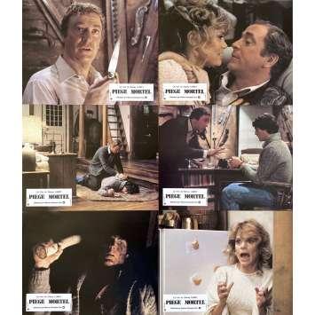 PIEGE MORTEL Photos de film x6 - 21x30 cm. - 1982 - Michael Caine, Christopher Reeve, Sidney Lumet