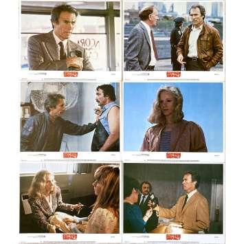 SUDDEN IMPACT Original Lobby Cards x6 - 11x14 in. - 1983 - Clint Eastwood, Sondra Locke
