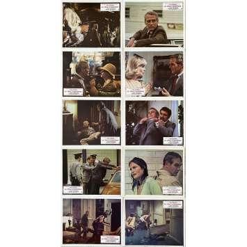 LA TOILE D'ARAIGNEE Photos de film x10 - 21x30 cm. - 1975 - Paul Newman, Stuart Rosenberg