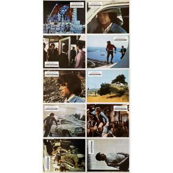 THE PARALLAX VIEW Original Lobby Cards x10 - 9x12 in. - 1974 - Alan J. Pakula, Warren Beatty