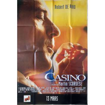CASINO Original Movie Poster- 47x69 in. - 1995 - Martin Scorsese, Robert de Niro