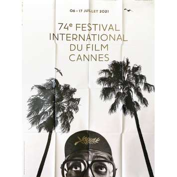 CANNES FESTIVAL 2021 Original Movie Poster- 47x63 in. - Spike Lee