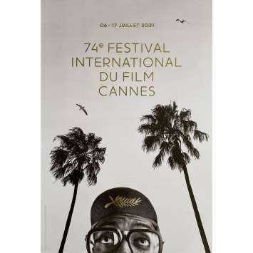 CANNES FESTIVAL 2021 Original Movie Poster- 15x21 in. - Spike Lee