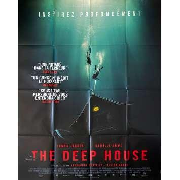 THE DEEP HOUSE Affiche de film- 120x160 cm. - 2021 - Camille Rowe, Bustillo & Maury