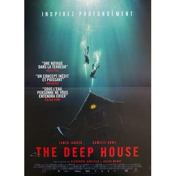 THE DEEP HOUSE Affiche de film- 40x60 cm. - 2021 - Camille Rowe, Bustillo & Maury
