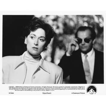 LA BRULURE Photo de presse 19-14 - 20x25 cm. - 1986 - Jack Nicholson, Meryl Streep, Mike Nichols