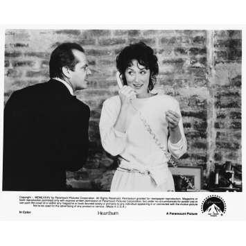 LA BRULURE Photo de presse 85-16 - 20x25 cm. - 1986 - Jack Nicholson, Meryl Streep, Mike Nichols