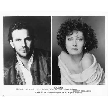 DUO A TROIS Photo de presse BD-GG-83K - 20x25 cm. - 1988 - Kevin Costner, Susan Sarandon, Ron Shelton