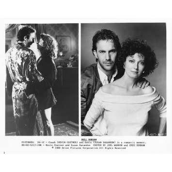 DUO A TROIS Photo de presse 34-12 - 20x25 cm. - 1988 - Kevin Costner, Susan Sarandon, Ron Shelton