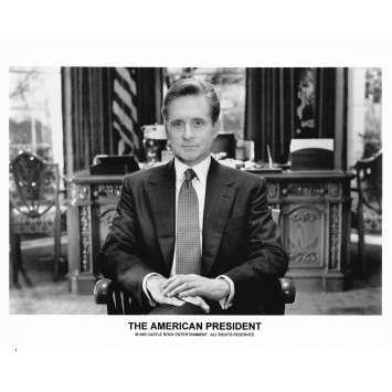 LE PRESIDENT ET MISS WADE Photo de presse N1 - 20x25 cm. - 1995 - Michael Douglas, Rob Reiner