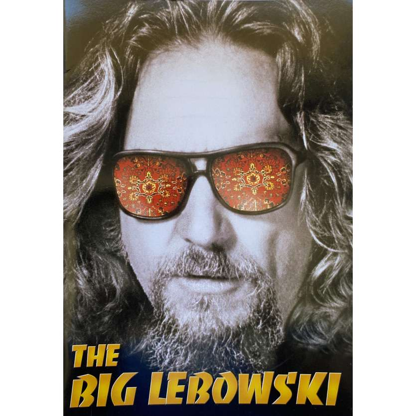 THE BIG LEBOWSKI Dossier de presse- 18x24 cm. - 1998 - Jeff Bridges, Joel Coen