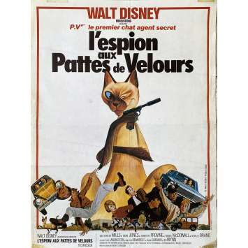 THAT DARN CAT Original Movie Poster- 14x21 in. - 1965 - Walt Disney, Dean Jones
