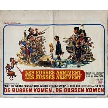 LES RUSSES ARRIVENT Affiche de film- 35x55 cm. - 1966 - Carl Reiner, Norman Jewison