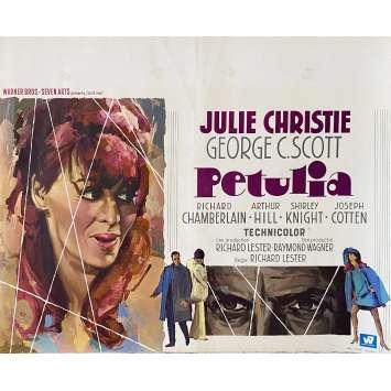 PETULIA Affiche de film- 35x55 cm. - 1968 - Julie Christie, Richard Lester