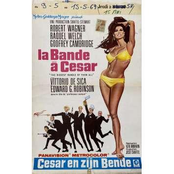 THE BIGGEST BUNDLE OF THEM ALL Original Movie Poster- 14x21 in. - 1968 - Ken Annakin, Raquel Welch