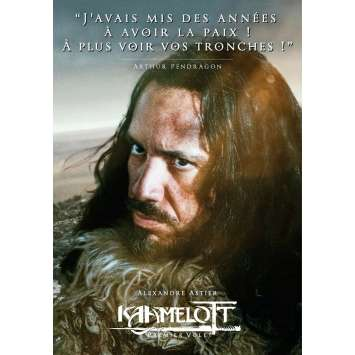 KAAMELOTT Affiche de film Arthur - 40x60 cm. - 2021 - Sting, Alexandre Astier