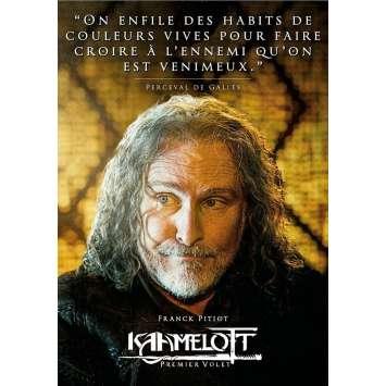 KAAMELOTT Affiche de film Perceval - 40x60 cm. - 2021 - Sting, Alexandre Astier