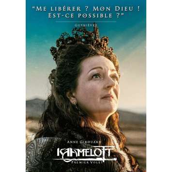 KAAMELOTT Affiche de film Guenièvre - 40x60 cm. - 2021 - Sting, Alexandre Astier