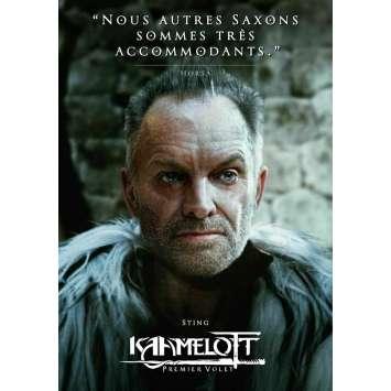 KAAMELOTT Original Movie Poster Horsa - 15x21 in. - 2021 - Alexandre Astier, Sting