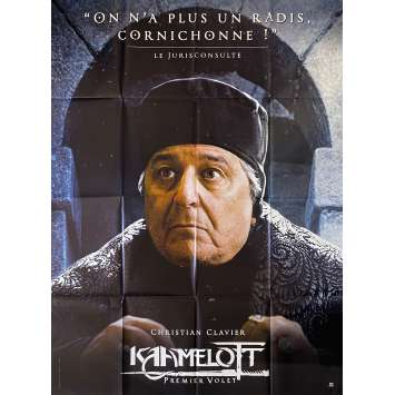 KAAMELOTT Original Movie Poster Jurisconsulta - 47x63 in. - 2021 - Alexandre Astier, Sting