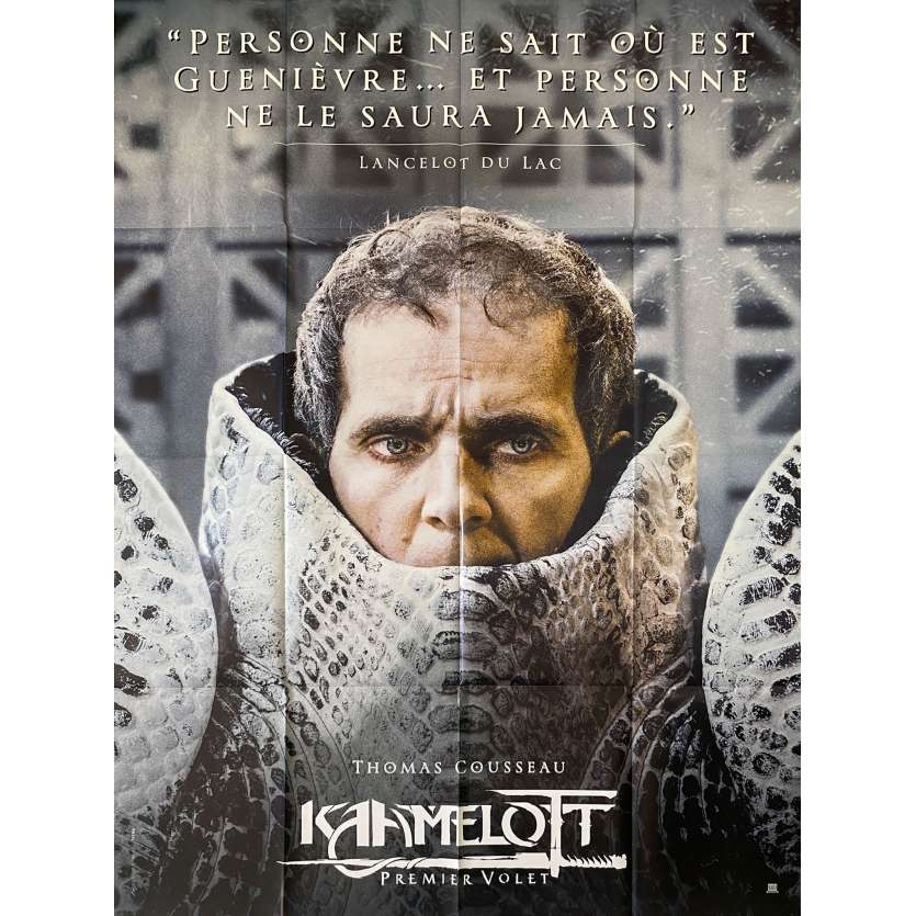 KAAMELOTT Original Movie Poster Lancelot - 47x63 in. - 2021 - Alexandre Astier, Sting