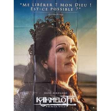 KAAMELOTT Original Movie Poster Guenièvre - 47x63 in. - 2021 - Alexandre Astier, Sting