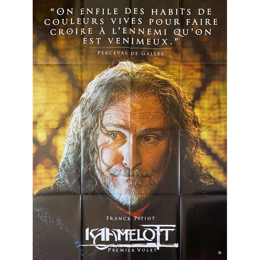 KAAMELOTT Original Movie Poster Perceval - 47x63 in. - 2021 - Alexandre Astier, Sting