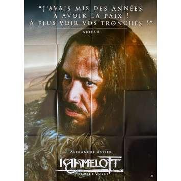 KAAMELOTT Original Movie Poster Arthur - 47x63 in. - 2021 - Alexandre Astier, Sting