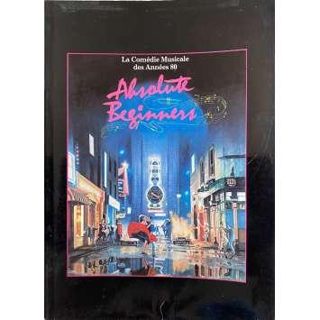 ABSOLUTE BEGINNERS Dossier de presse- 13x18 cm. - 1986 - David Bowie, Julien Temple