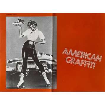 AMERICAN GRAFFITI Synopsis- 21x30 cm. - 1973 - Richard Dreyfuss, George Lucas