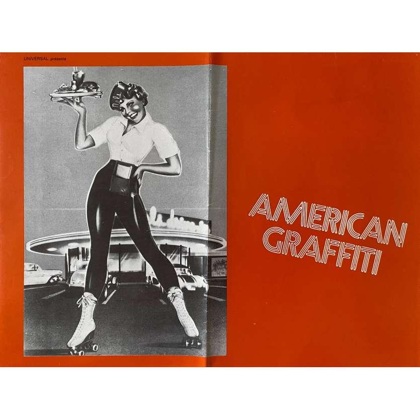 AMERICAN GRAFFITI Original Herald- 9x12 in. - 1973 - George Lucas, Richard Dreyfuss