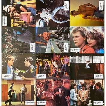 FOOTLOSE Original Lobby Cards X12 - 9x12 in. - 1984 - Herbert Ross, Kevin Bacon