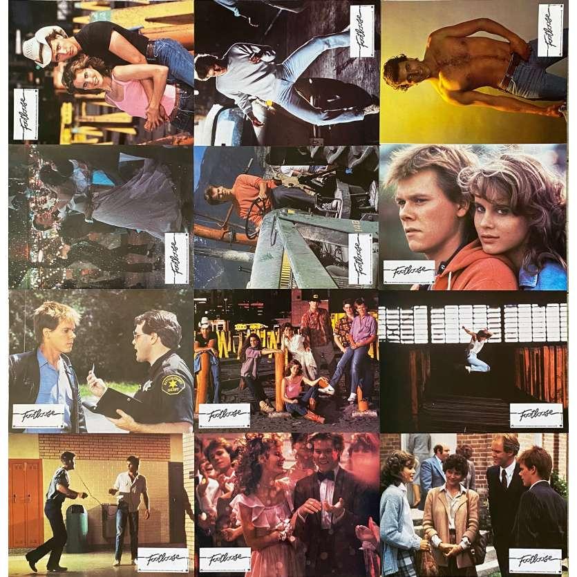 FOOTLOSE Photos de film X12 - 21x30 cm. - 1984 - Kevin Bacon, Herbert Ross