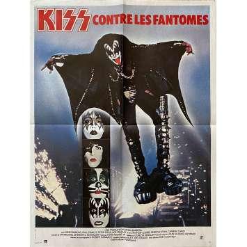 KISS CONTRE LES FANTOMES Affiche de film- 40x60 cm. - 1978 - Gene Simmons, Gordon Hessler