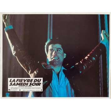 SATURDAY NIGHT FEVER Original Lobby Card N1 - 9x12 in. - 1977 - John Badham, John Travolta