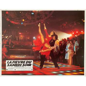SATURDAY NIGHT FEVER Original Lobby Card N5 - 9x12 in. - 1977 - John Badham, John Travolta