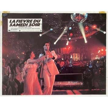 SATURDAY NIGHT FEVER Original Lobby Card N6 - 9x12 in. - 1977 - John Badham, John Travolta