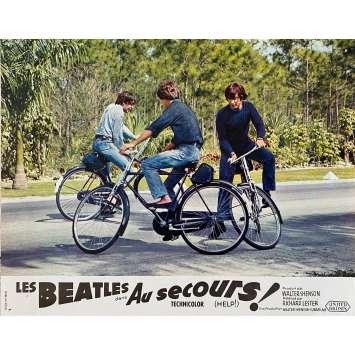 LES BEATLES AU SECOURS ! Photo de film N1 - 21x30 cm. - 1965 - The Beatles, Richard Lester