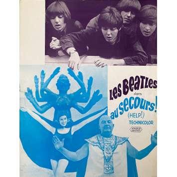 LES BEATLES AU SECOURS ! Synopsis- 21x30 cm. - 1965 - The Beatles, Richard Lester
