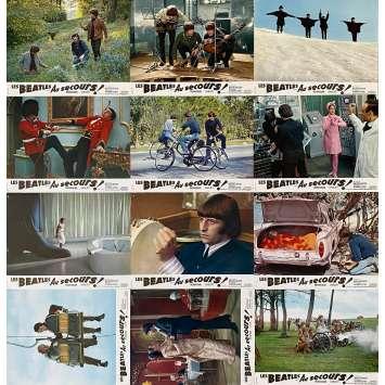 LES BEATLES AU SECOURS ! Photos de film x12 - 21x30 cm. - 1965 - The Beatles, Richard Lester