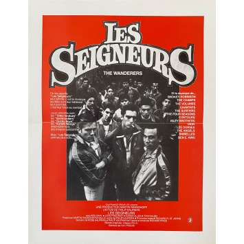 LES SEIGNEURS Synopsis- 21x30 cm. - 1979 - Ken Wahl, Philip Kaufman