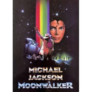MOONWALKER Original Pressbook 24p - 9x12 in. - 1988 - Jerry Kramer, Michael Jackson