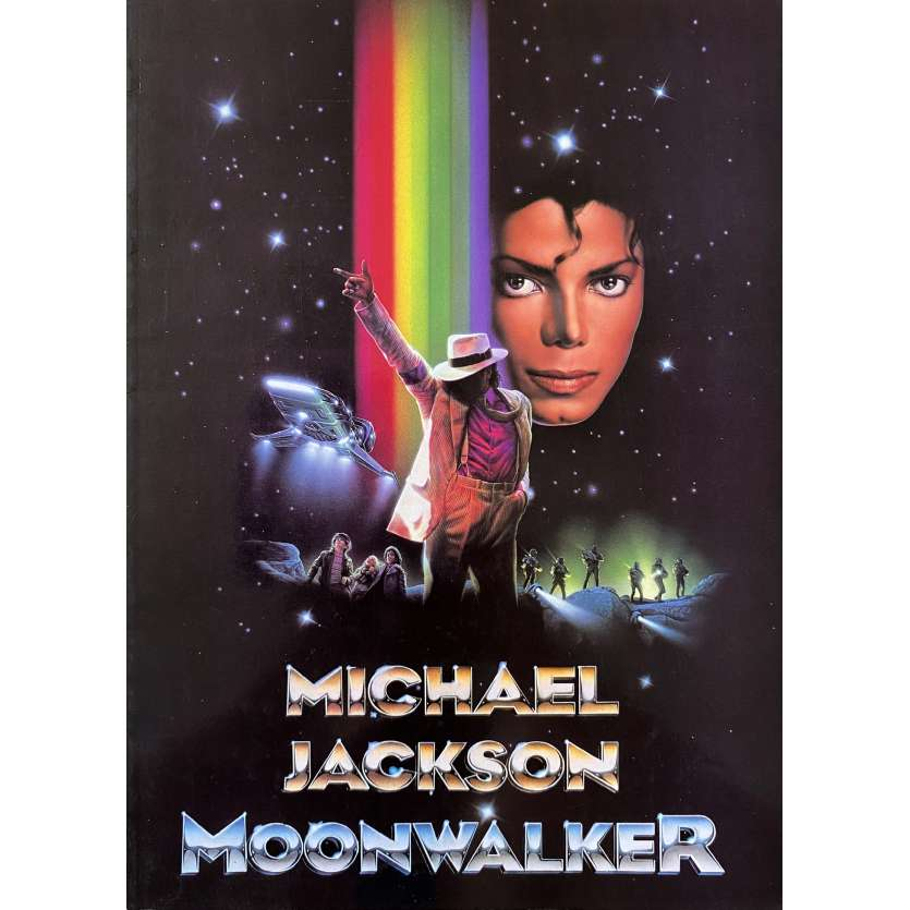MOONWALKER Dossier de presse 24p - 21x30 cm. - 1988 - Michael Jackson, Jerry Kramer
