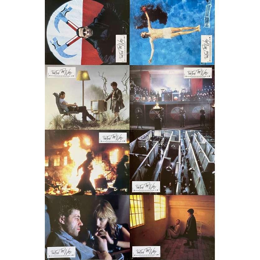 PINK FLOYD THE WALL Original Lobby Cards X8 - 9x12 in. - 1982 - Alan Parker, Bob Geldof