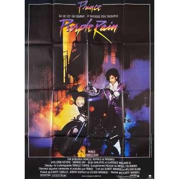 PURPLE RAIN Affiche de film- 120x160 cm. - 1984 - Prince, Albert Magnoli