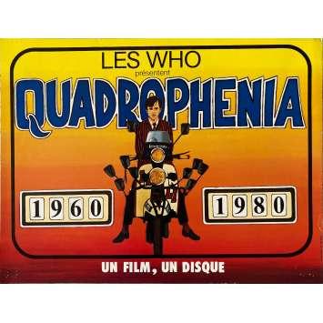 QUADROPHENIA Affiche de film- 30x40 cm. - 1980 - The Who, Frank Roddam