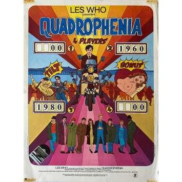 QUADROPHENIA Affiche de film- 40x60 cm. - 1980 - The Who, Frank Roddam