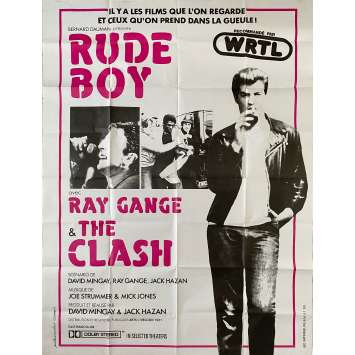 RUDE BOY Affiche de film- 120x160 cm. - 1980 - The Clash, Ray Gange
