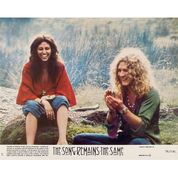 THE SONG REMAINS THE SAME Photo de film N8 - 21x30 cm. - 1976 - Robert Plant, Jimmy Page, Led Zeppelin